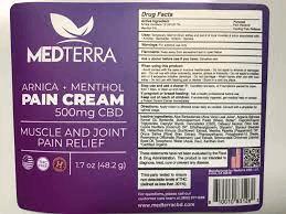 Medterra Arnica+ Menthol