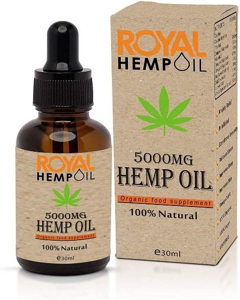 Organic Royal Hemp Oil