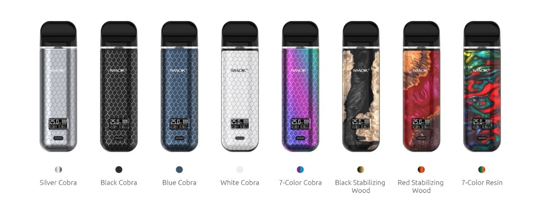 Smok Novo X Variant colors